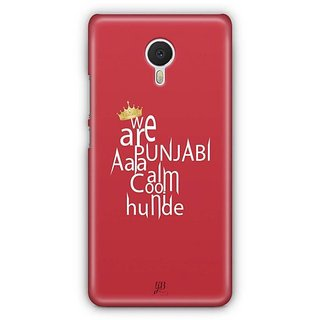 YuBingo We are Punjabi Designer Mobile Case Back Cover for Meizu M3 Note