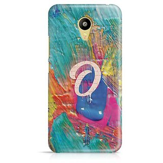 YuBingo Monogram with Beautifully Written Funky Colourful Paint Finish letter O Designer Mobile Case Back Cover for Meizu M3