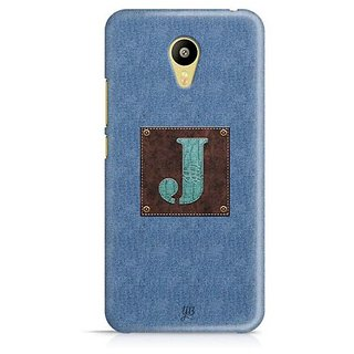 YuBingo Monogram with Beautifully Written Jeans and Macho Male Leather Finish letter J Designer Mobile Case Back Cover for Meizu M3