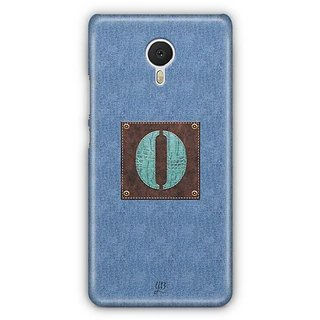 YuBingo Monogram with Beautifully Written Jeans and Macho Male Leather Finish letter O Designer Mobile Case Back Cover for Meizu M3 Note