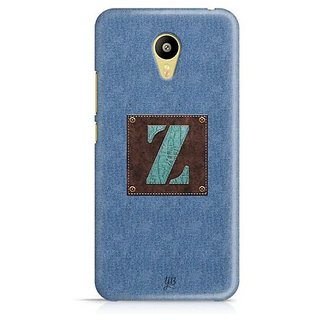 YuBingo Monogram with Beautifully Written Jeans and Macho Male Leather Finish letter Z Designer Mobile Case Back Cover for Meizu M3