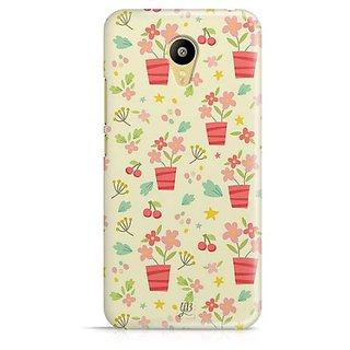 YuBingo Flowers with Vase Designer Mobile Case Back Cover for Meizu M3