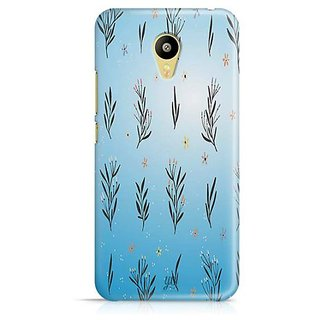 YuBingo Leafy flowery pattern Designer Mobile Case Back Cover for Meizu M3