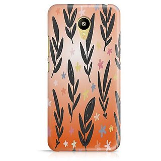 YuBingo Flowers and leaves pattern Designer Mobile Case Back Cover for Meizu M3