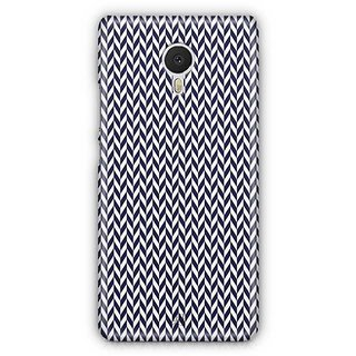 YuBingo Black arrow pattern Designer Mobile Case Back Cover for Meizu M3 Note