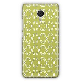 YuBingo White leaf and flowers Designer Mobile Case Back Cover for Meizu M3 Note