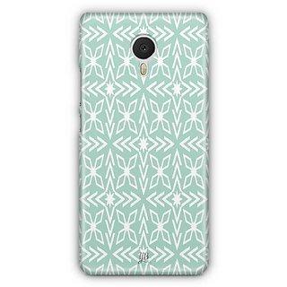 YuBingo Green pattern Designer Mobile Case Back Cover for Meizu M3 Note