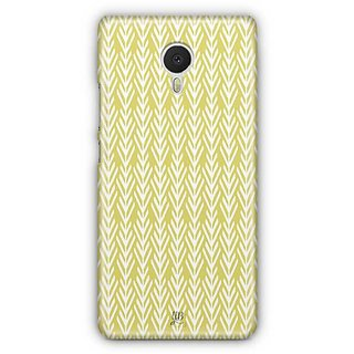 YuBingo White arrow pattern Designer Mobile Case Back Cover for Meizu M3 Note