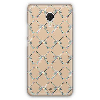 YuBingo Crossed Arrow Designer Mobile Case Back Cover for Meizu M3 Note