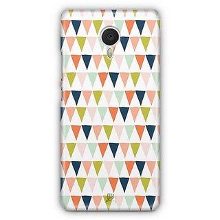 YuBingo Triangle pattern Designer Mobile Case Back Cover for Meizu M3 Note