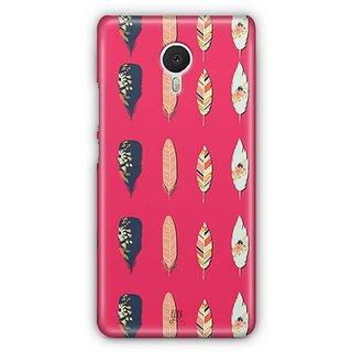 YuBingo Beautiful feathers Designer Mobile Case Back Cover for Meizu M3 Note