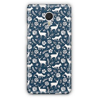 YuBingo Deer and fox pattern Designer Mobile Case Back Cover for Meizu M3 Note