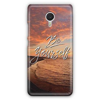 YuBingo Be Yourself Designer Mobile Case Back Cover for Meizu M3 Note