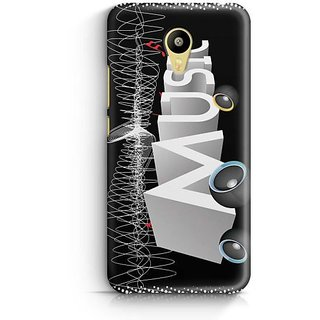 YuBingo Music with a Thump Designer Mobile Case Back Cover for Meizu M3