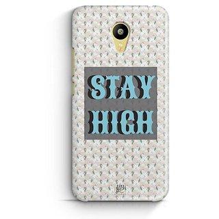 YuBingo Stay High Designer Mobile Case Back Cover for Meizu M3
