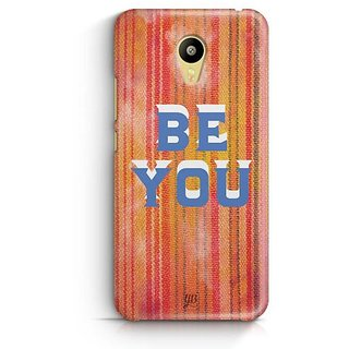 YuBingo Be You Designer Mobile Case Back Cover for Meizu M3