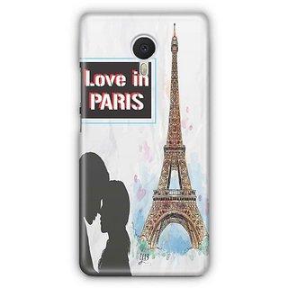 YuBingo Love in Paris Designer Mobile Case Back Cover for Meizu M3 Note