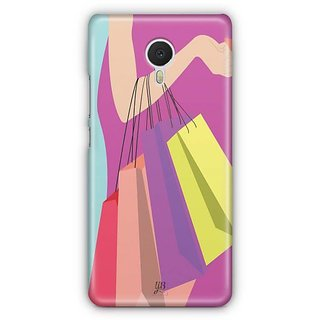 YuBingo Shopping Bags Designer Mobile Case Back Cover for Meizu M3 Note