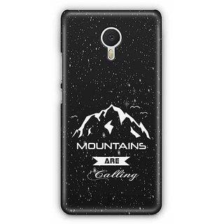 YuBingo Mountains are Calling Designer Mobile Case Back Cover for Meizu M3 Note