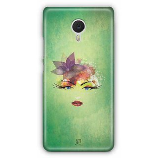 YuBingo Beauty Personified Designer Mobile Case Back Cover for Meizu M3 Note