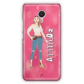 YuBingo Attitude Designer Mobile Case Back Cover for Meizu M3 Note
