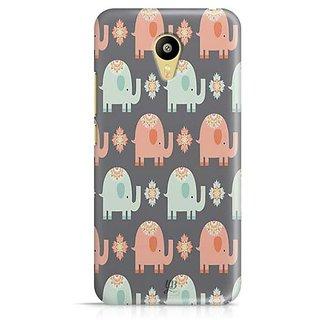 YuBingo Elephant pattern Designer Mobile Case Back Cover for Meizu M3