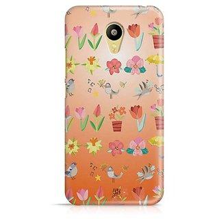 YuBingo Flowers and birds pattern Designer Mobile Case Back Cover for Meizu M3