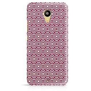 YuBingo Red circles pattern Designer Mobile Case Back Cover for Meizu M3