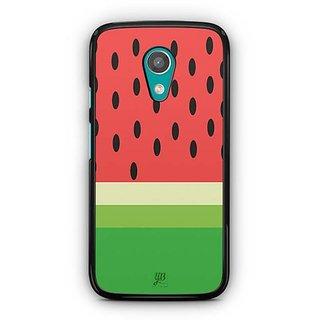 YuBingo Watermelon Designer Mobile Case Back Cover for Motorola G2