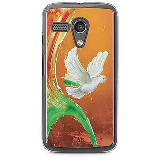 YuBingo Peace Dove Designer Mobile Case Back Cover for Motorola G