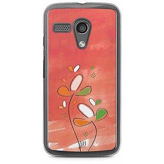 YuBingo Beauty of Flowers Designer Mobile Case Back Cover for Motorola G