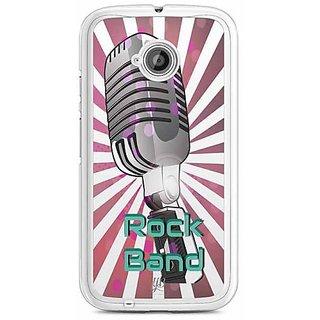 YuBingo Rock Band Designer Mobile Case Back Cover for Motorola E2