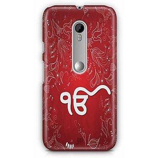 YuBingo Ik Onkar Designer Mobile Case Back Cover for Motorola G3 / G3 Turbo