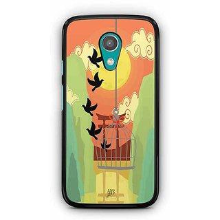 YuBingo Freedom from Cages Designer Mobile Case Back Cover for Motorola G2