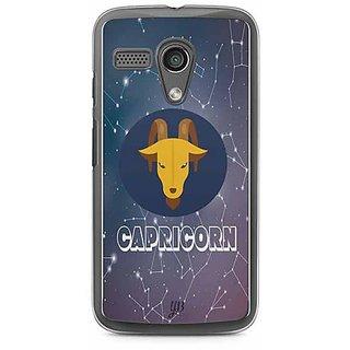 YuBingo Capricorn Designer Mobile Case Back Cover for Motorola G