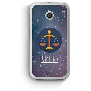 YuBingo Libra Designer Mobile Case Back Cover for Motorola E