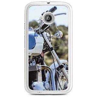 YuBingo Bike Designer Mobile Case Back Cover for Motorola E2