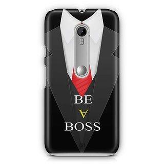YuBingo Be a Boss Designer Mobile Case Back Cover for Motorola G3 / G3 Turbo