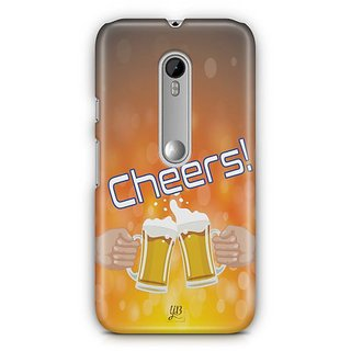 YuBingo Cheers with Friends Designer Mobile Case Back Cover for Motorola G3 / G3 Turbo