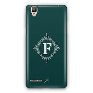 YuBingo Monogram with Beautifully Written letter F Designer Mobile Case Back Cover for Oppo F1 / A35