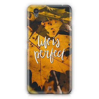 YuBingo Life is perfect Designer Mobile Case Back Cover for OnePlus X
