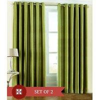 Furnix Plain Eyelet Door Curtain D.No. 1032-2 Pc