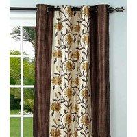 Furnix Printed Eyelet Door Curtain D.NO. 3053-2Pc