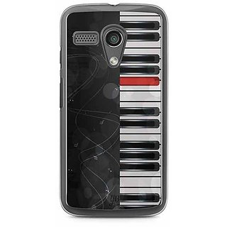 YuBingo Piano Designer Mobile Case Back Cover for Motorola G