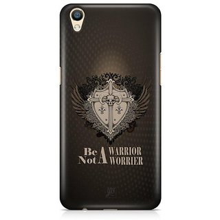 YuBingo Be a Warrior Designer Mobile Case Back Cover for Oppo F1 Plus / R9