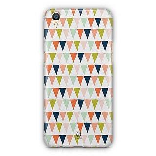 YuBingo Triangle pattern Designer Mobile Case Back Cover for Oppo F1 Plus / R9