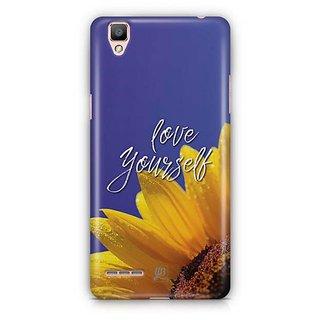 YuBingo Love Yourself Designer Mobile Case Back Cover for Oppo F1 / A35