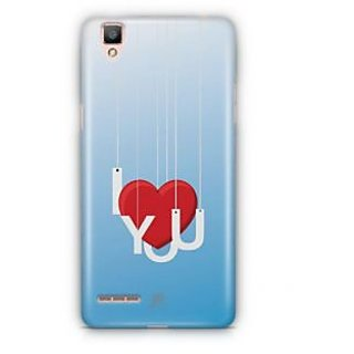 YuBingo I Love You Designer Mobile Case Back Cover for Oppo F1 / A35