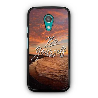 YuBingo Be Yourself Designer Mobile Case Back Cover for Motorola G2