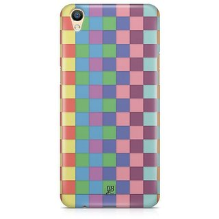 YuBingo Colourful Square Patterns Designer Mobile Case Back Cover for Oppo F1 Plus / R9
